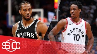 Woj: Spurs trade Kawhi Leonard to Raptors for DeMar DeRozan | SportsCenter | ESPN