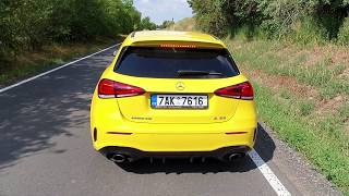 Mercedes-AMG A 35 4Matic: engine & exhaust sound
