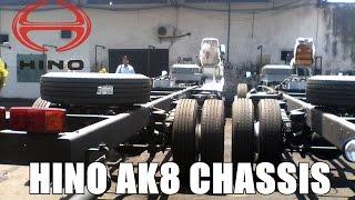 Hino AK8 Bus Chassis At Harapan Jaya Garage