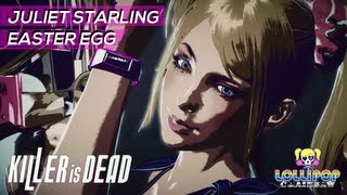 KILLER IS DEAD - Juliet Starling Easter Egg (Lollipop Chainsaw) [HD] Xbox 360 PS3