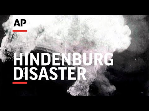 Hindenburg Disaster - real footage of the terrible crash 1937 ...