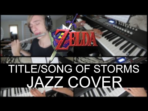 The Legend of Zelda - Ocarina of Time: Title/Song of Storms - Jazz Cover