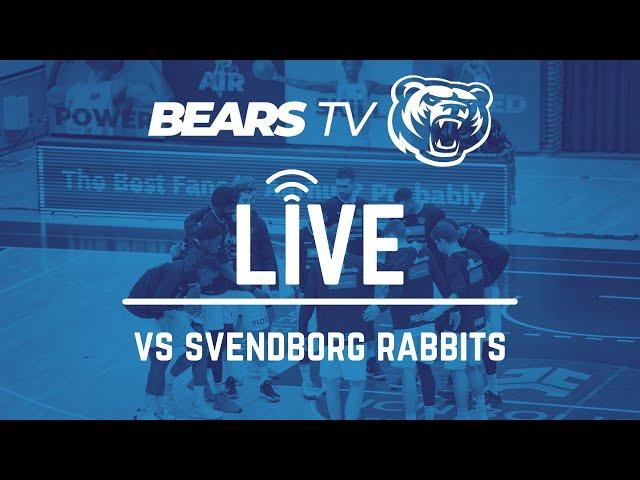 BEARS TV LIVE | Semifinaleserien | Kamp 3 vs Svendborg Rabbits