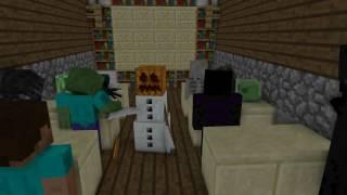 Minecraft kaputte Animation: Das neue Internat (aka Monsterschule lol)