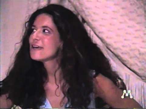 Novela Mandacaru - cena do Ator Renato Oliveira com a Atriz Paula Melissa (Rede Manchete)