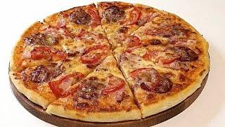 ПРАВИЛЬНЫЙ и УДОБНЫЙ  рецепт  теста  ДЛЯ ПИЦЦЫ. / Pizza dough