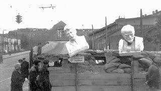 """""""Киев в огне"""" 1941-1943, Оккупация и освоождение столицы Украины, кинохроника"""