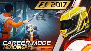 F1 2017 Career Mode Part 56: Making History?