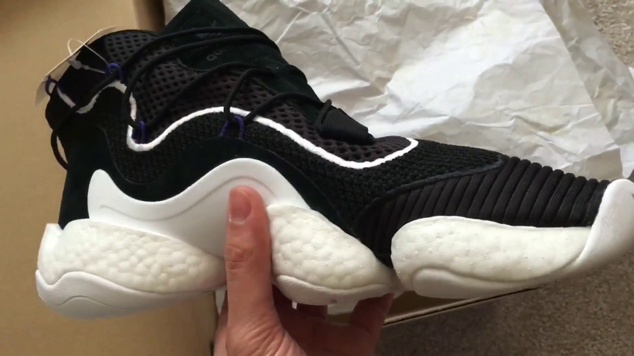 on sale 1a589 90edd Unboxing Adidas Crazy BYW LVL 1 Boost You Wear Early release limited edition
