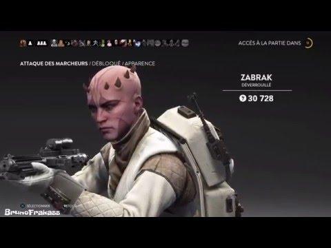 Star Wars Battlefront - Apparence: ZABRAK