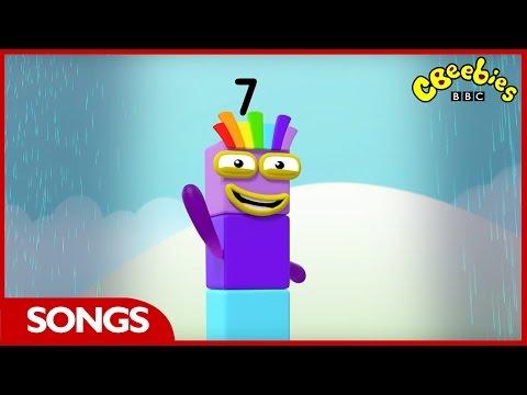 CBeebies | Numberblocks | Number Seven Song