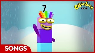 CBeebies  Numberblocks  Number Seven Song