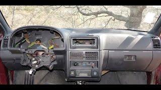 Comment démonter le tableau de bord sur Citroën AX