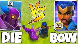 Baixar P.E.K.K.A  vs. Royal Champion!  | Clash Of Clans | now YOU Bow !!