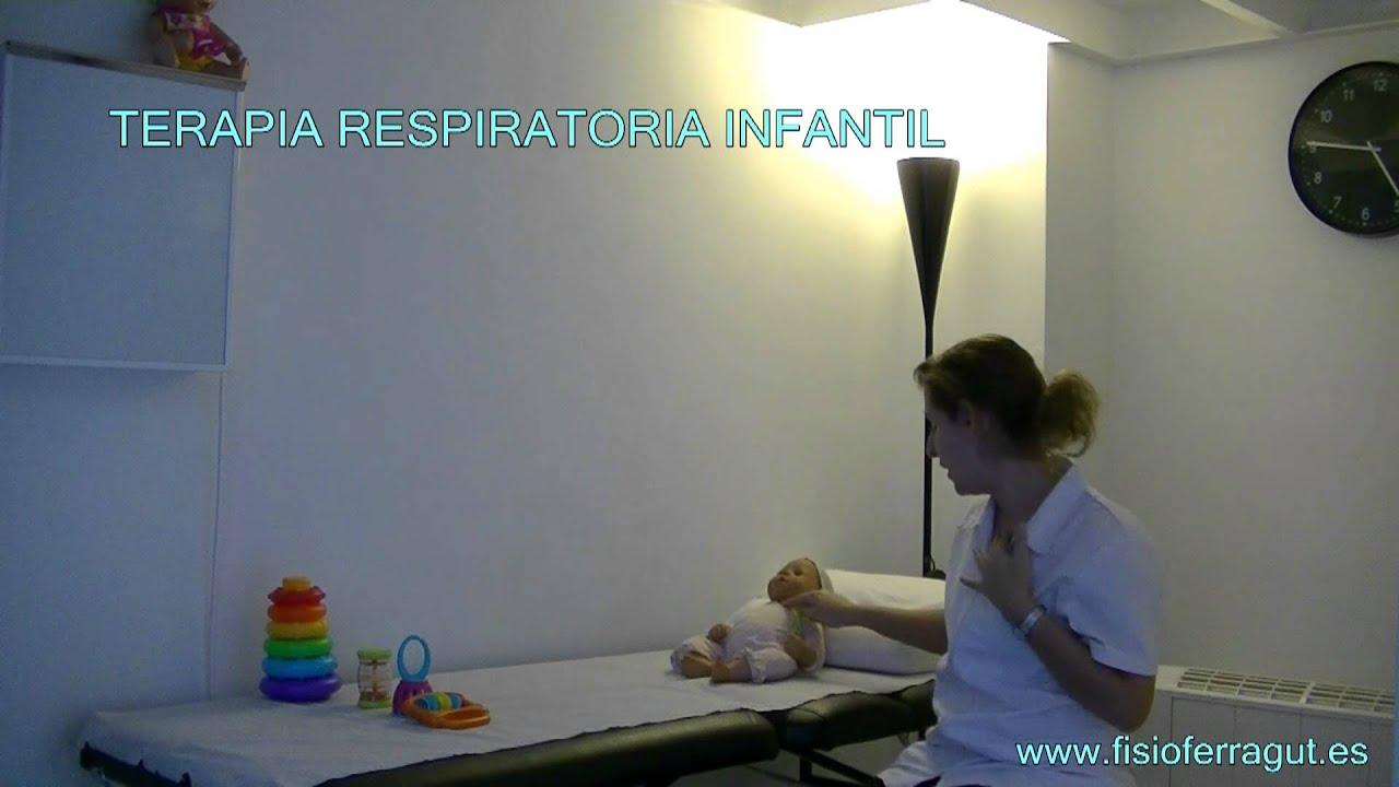TERAPIA RESPIRATORIA INFANTIL - YouTube