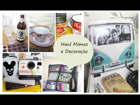Comprinhas Mimos E Decora O Home Decor Haul Youtube