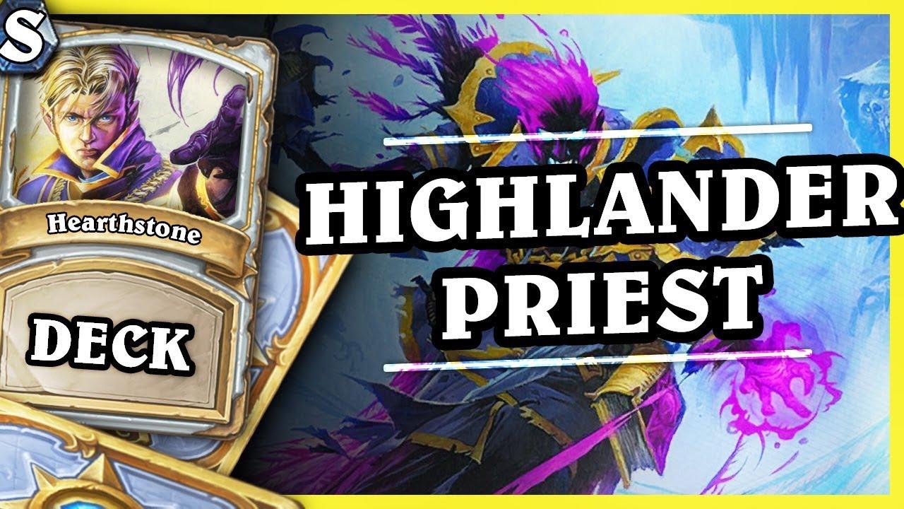 HIGHLANDER PRIEST – Hearthstone Deck Std (K&C)