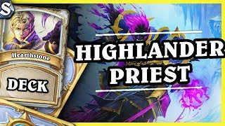 HIGHLANDER PRIEST - Hearthstone Deck Std (K&C)