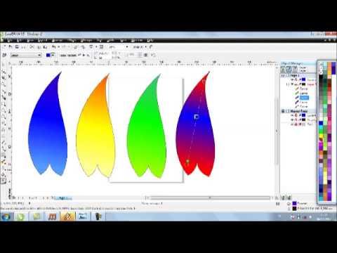 Corel draw x5 tutorial blend tool full free video new techtamil.