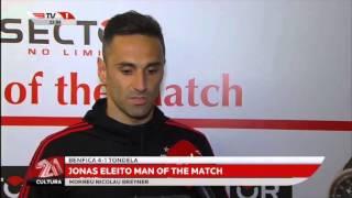 Man of the Match: Jonas - Benfica 4 - 1 Tondela