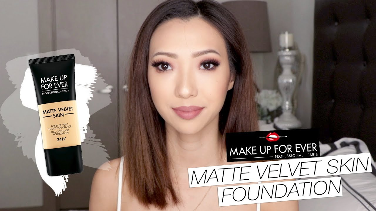 Make Up Forever Matte Velvet Skin Foundation Review Youtube