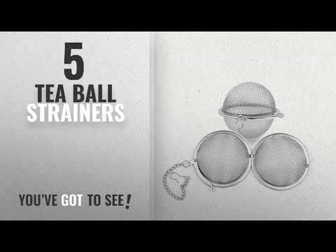 Top 10 Tea Ball Strainers [2018]: Tea Infuser, ARKTEK Food Grade Stainless Steel Mesh Tea Strainer