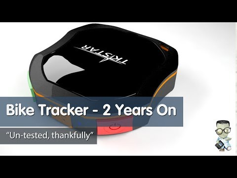 TK-Star Motorbike GPS Tracker - 2 Years on Review
