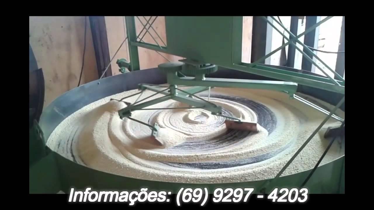 Forno de Torrar farinha - YouTube