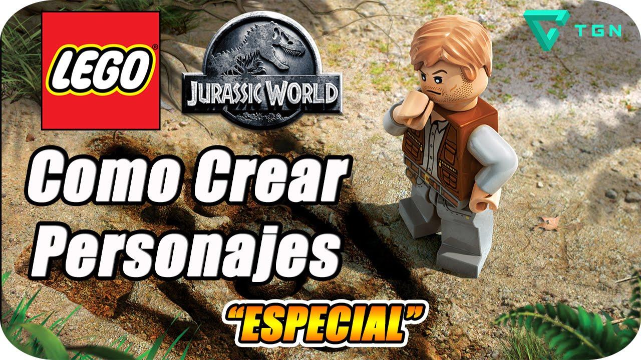 LEGO Jurassic World - Especial - Como Crear Personajes - 1080p - YouTube