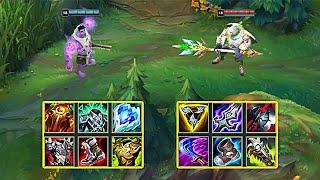 NEW MUNDO vs JĄX FULL BUILD FIGHTS - League of Legends