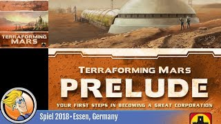 Terraforming Mars: Prelude — game overview at SPIEL '18