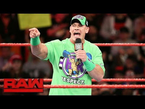 Download John Cena wants The Undertaker to return for one more match at WrestleMania: Raw, March 12, 2018 2xs