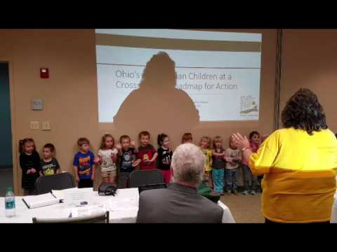 Head Start Song at the Children's Defense Fund Report Roundtable