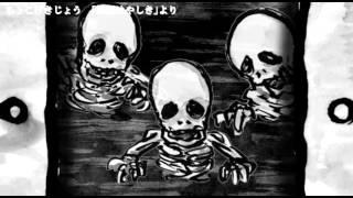 自主制作絵本アニメ動画、ちょこげきじょう「おばけやしき」より、ガイ...