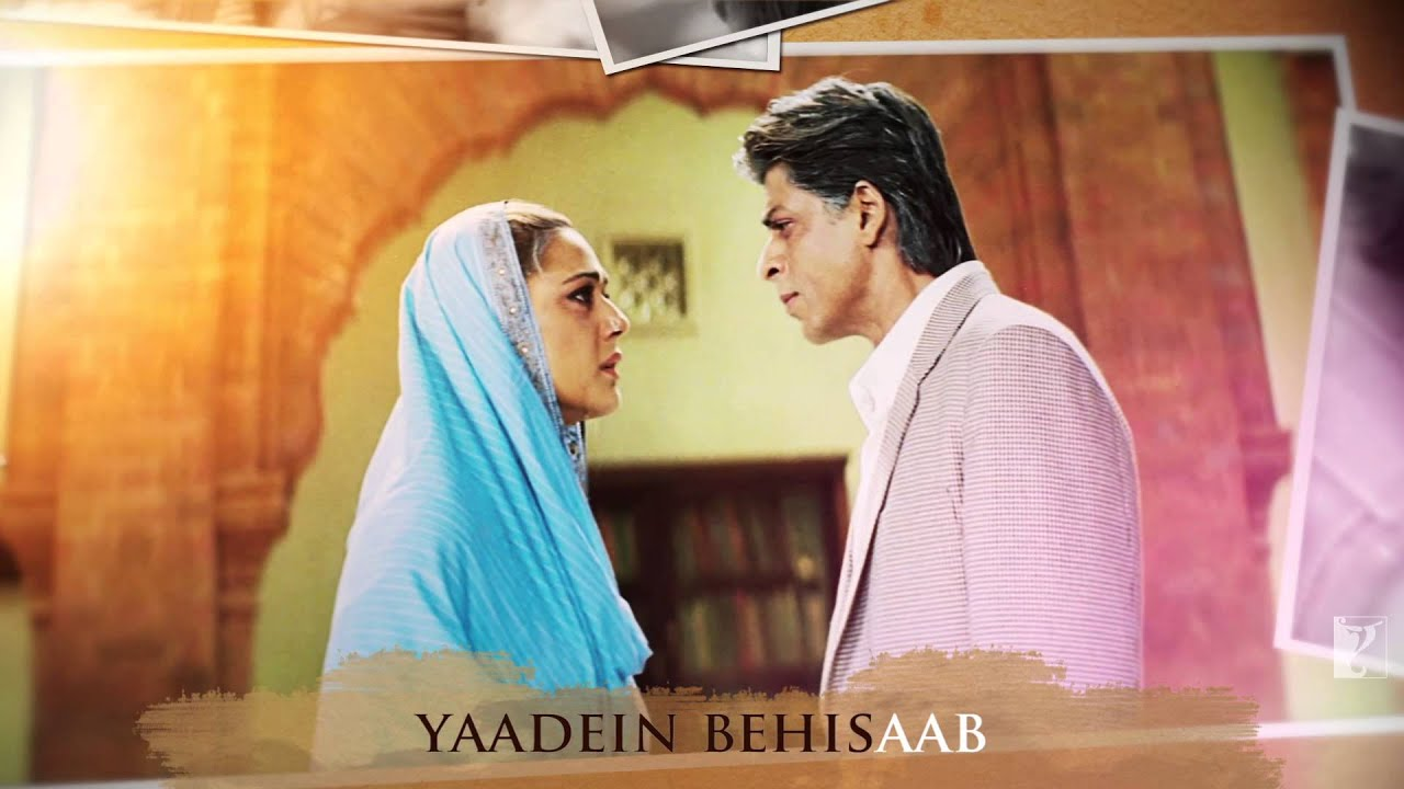 Lyrical: Tere liye Song with Lyrics | Veer-Zaara | Shah ...