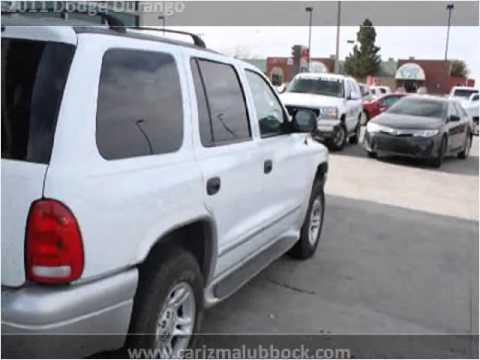 2011 Dodge Durango Used Cars Lubbock Tx Youtube