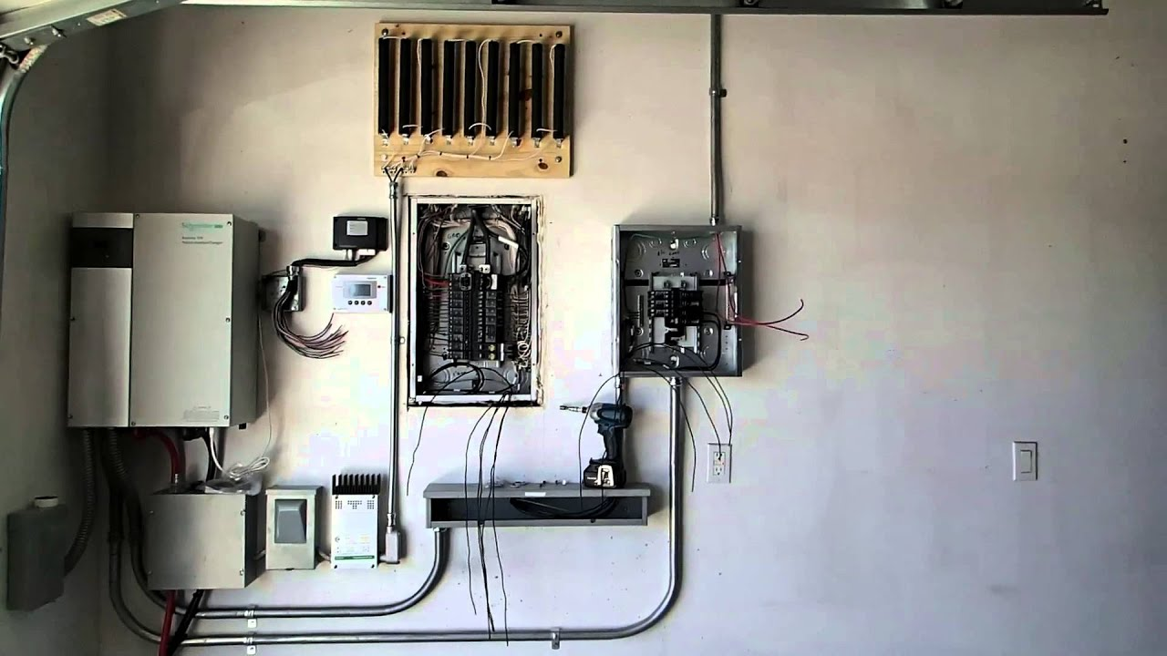Battery Backup Grid Tied Inverter Demo By Clay Reid