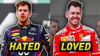 How Vettel Went From the Most Hated to the Most Loved Driver In F1