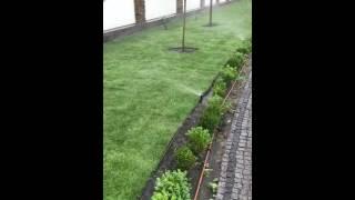 работа системы автоматического полива, полив газонов системой Toro(, 2016-06-03T10:21:30.000Z)