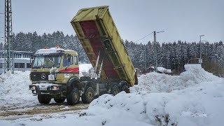 Schneechaos und Katastrophenfall im Landkreis Miesbach - Oberbayern !