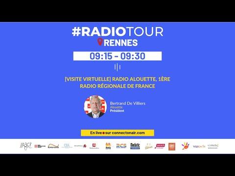 9H15 - [VISITE VIRTUELLE] RADIO ALOUETTE, 1ÈRE RADIO RÉGIONA