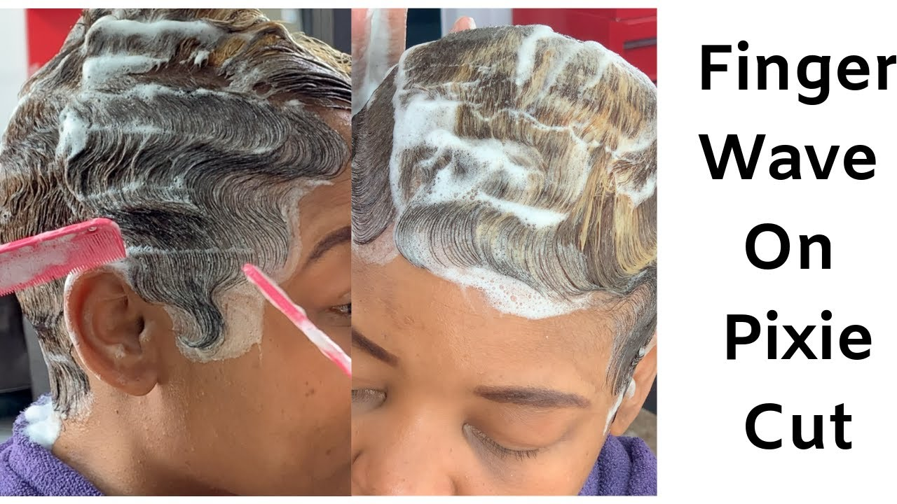 Finger Wave Black Women Hairstyles