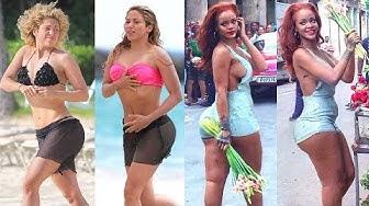Rihanna vs Shakira Transformation ★ 2019