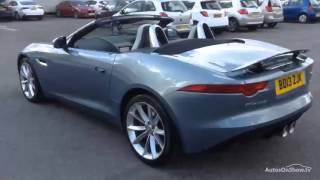 Jaguar F-Type Firesand 2013 Videos