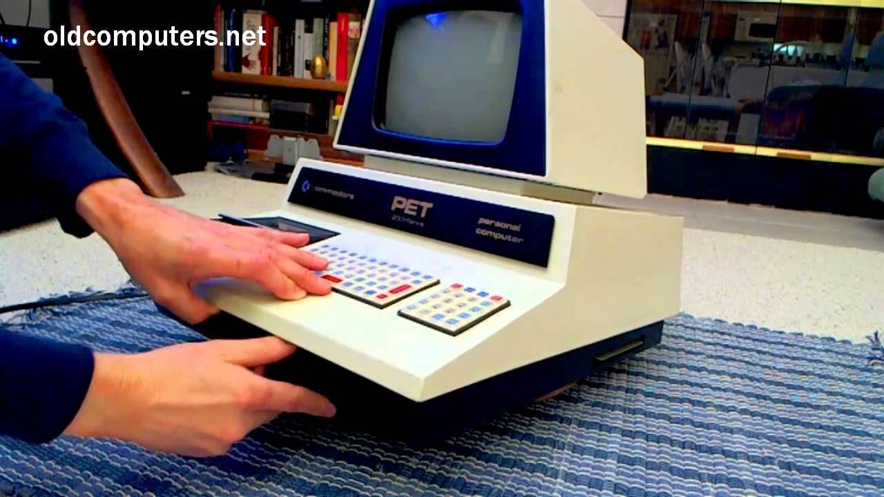 1977 - Commodore PET 2001 computer - YouTube