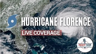 LIVE COVERAGE: TRACKING HURRICANE FLORENCE