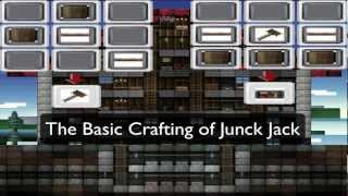 Junk Jack - Guide How To Craft Basic Furnitures (updated)