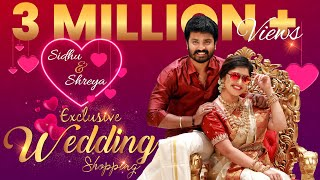 ❤️Cute Couple Sidhu Shreya's Wedding Shopping & Romantic Dance | Valentine's Day Spl | #THEPRIDESHOP