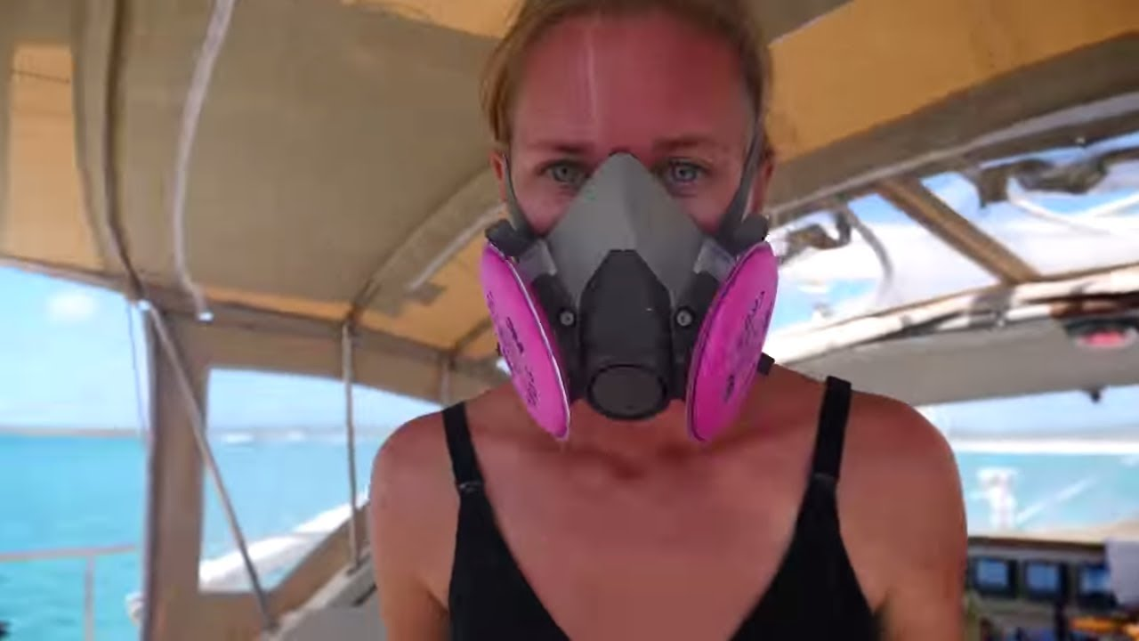 DAY IN THE LIFE - Our 56th day of SELF-ISOLATION on a SAILBOAT! - Sailing Vessel Delos Ep. 276