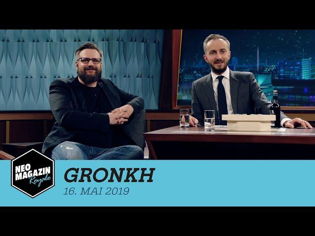 Gronkh zu Gast im Neo Magazin Royale mit Jan Böhmermann -  ZDFneo